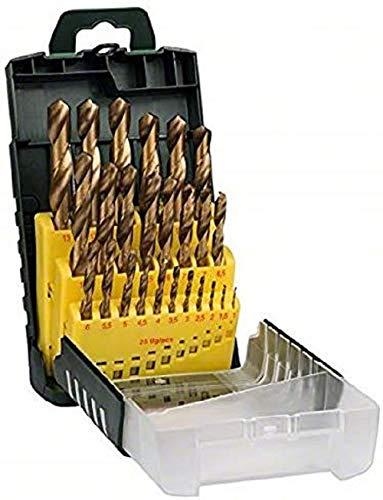 Bosch 25tlg. Metallbohrer-Set HSS-TiN titanium