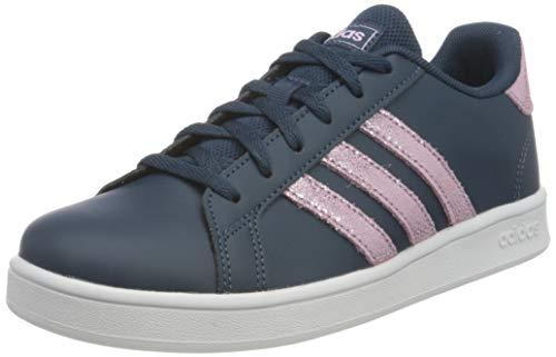 adidas Grand Court K, Sneaker, Crew Navy/Clear Lilac/Ftwr White, 38 EU