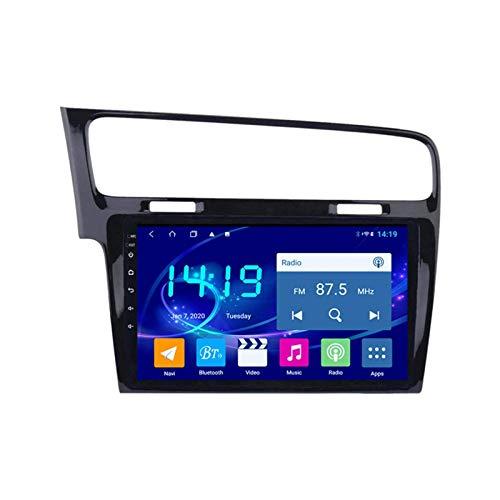 Coche Radio Estéreo GPS Navegación Para Volkswagen Golf 7 2014-2018 Unidad Cabeza Auto Multimedia Player FM Receptor Con Wifi Bluetooth MP5 DSP Mirrorlink 1080P Pantalla Táctil,8 core 4g+wifi: 4+64gb