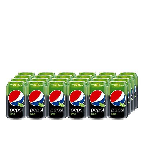 Pepsi Cola Lime (24 x 330ml) Erfrischende Pepsi Cola mit Limettengeschmack