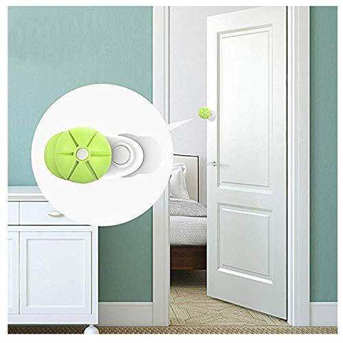 [XPデザイン] ドア とびら すきま 安全 ストッパー 指はさみ ベビーガード 地震 強風 台風 セーフティー (グリーン2個セット)