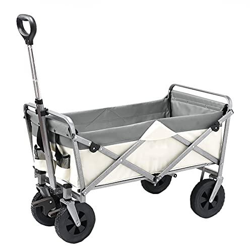 Garden Trolley Opvouwbare Tuinwagen, Openlucht Draagbaar Opslagkarretje, Duurzame Oxford-doekstof, 120 Kg Draagvermogen…