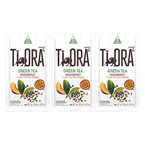Ti Ora Green Tea, Grüner Tee, Grüntee, Teegetränk, Getränk, 45 Teebeutel, á 2.5 g
