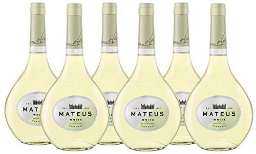 Vino Blanco Mateus - 6 botellas de 750 ml - Total: 4500 ml