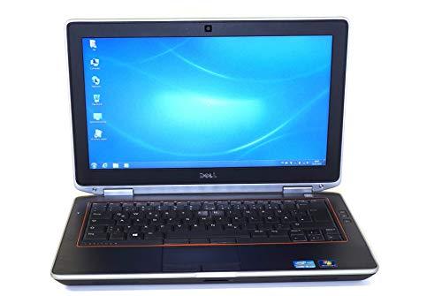 Dell Latitude E6320 - PC portatile, 13,3', colore: grigio (Intel Core i5 2520M/2,50GHz, 8 GB di RAM, HDD 128 GB SSD, masterizzatore DVD, Webcam, WiFi, Windows 7 Professional)