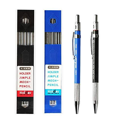 Mechanical Pencil 2 Pieces 2.0mm, X…
