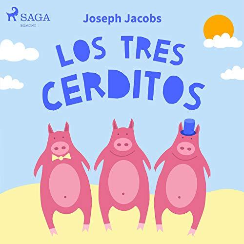 Diseño de la portada del título Los tres cerditos