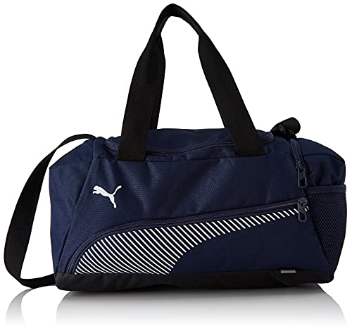 PUMA 4063699953039 Fundamentals Sports Bag XS Borsa, Peacoat/Puma White