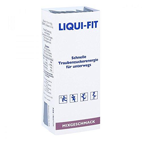 LIQUI-FIT schnelle Traubenzuckerenergie Beutel Mixgeschmack, 12 St. Beutel