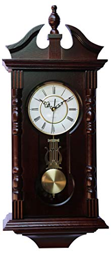 Vmarketingsite Wall Clocks: Grandfather Wood Wall Clock with Chime....