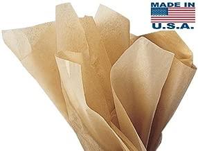 Acid Kraft -Free Tissue Paper -960 Sheets 15 Inch x 20 Inch Neutral tan Premium Gift wrap Tissue Paper A1 bakery supplies