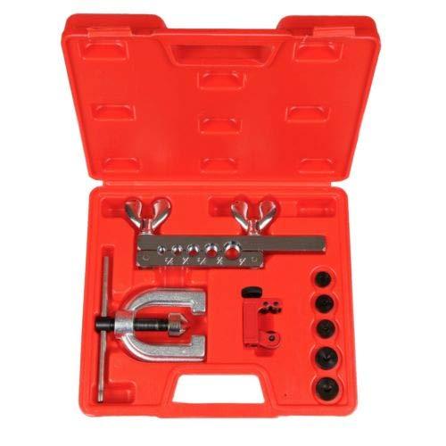 SAE Standard 45 Degree Double Single Tube Nut Flaring Kit Tool