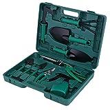 KEESIN Juego de herramientas de mano para jardín, kit de plantación,...