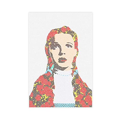The Greatest Actress in A Century Judy Garland 6 Canvas Poster Wall Art Decor Print Picture Paintings for Living Room Bedroom Decoration Unframe:20×30inch(50×75cm)