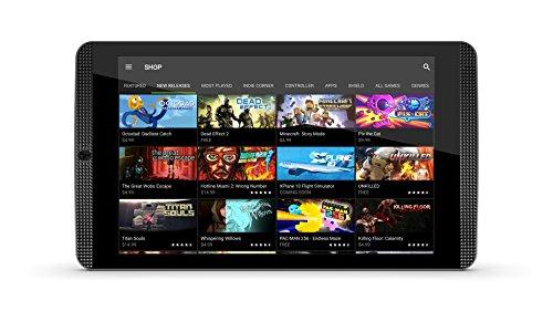 Nvidia Shield Tablet K1, 8  Full HD, RAM 2 GB, Nero