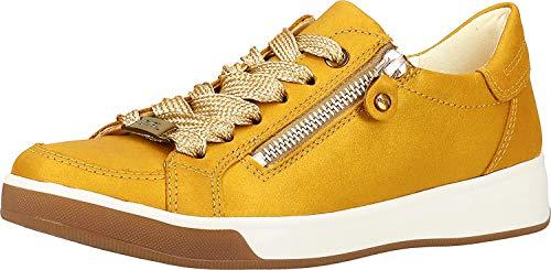 ara Damen ROM Sneaker, Gelb (Sole 12), 38 EU (5 UK)