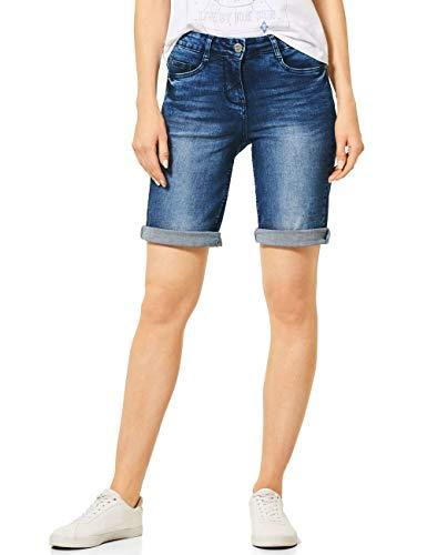 Cecil Damen 373243 Jeans, mid Blue wash, 29