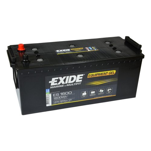 Lasermax Exide Equipment Batterie GEL ES 1600, Hersteller: Lasermax