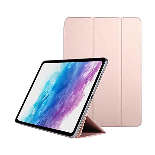DIANXIA Funda Protectora Magnética para 2021 iPad Mini 6 Funda De 8,3 Pulgadas con Carga De Lápiz/Soporte Plegable Delgado/Soporta Touch ID, Compatible con La Nueva Funda De iPad Mini De 6ª,Rosado