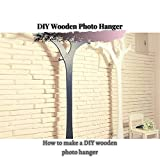 DIY Wooden Photo Hanger: How tо make a DIY wooden photo hanger (English Edition)