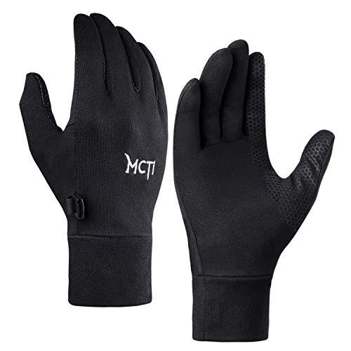 MCTi Laufhandschuhe Herren Damen Handschuhe Touchscreen Liner Leicht Sporthandschuhe Motorrad Radfahren Wandern Arbeiten