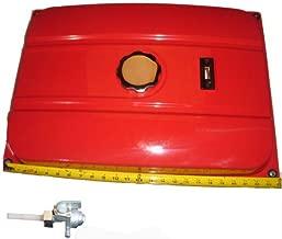 7 Gallon Universal Secondary Fuel Gas Tank Generator Petcock Filter Gauge Cap