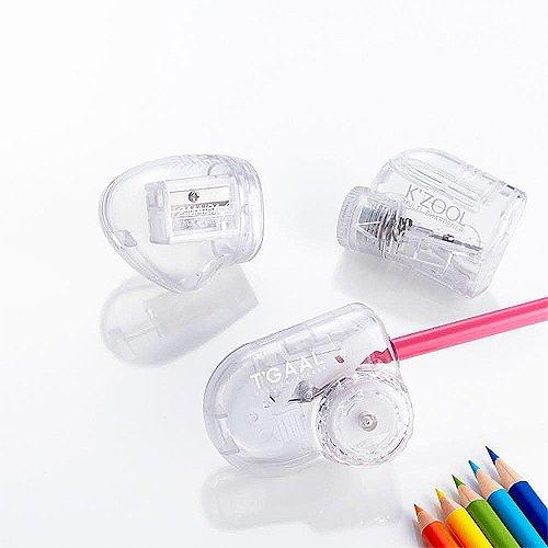 クツワ『透明鉛筆削りケズール(RS029CL)』