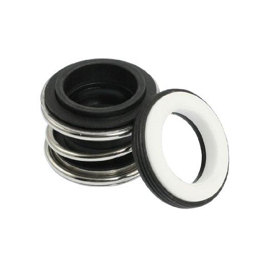 sourcingmap® Rubber Bellows Keramik Ring 16 mm Rotary Wasserpumpe Gleitringdichtung de