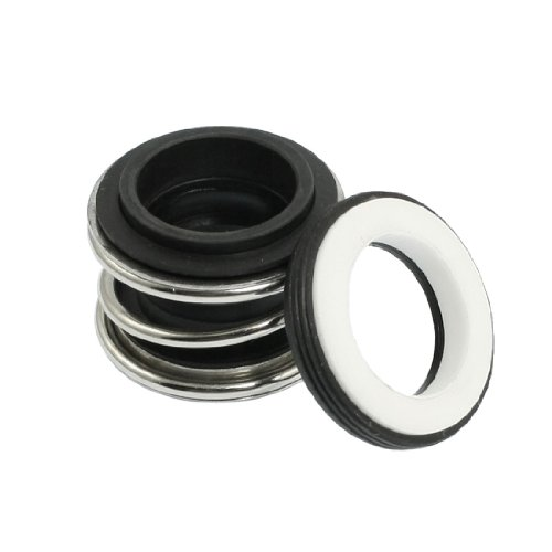 sourcingmap® Rubber Bellows Keramik Ring 16 mm Rotary Wasserpumpe Gleitringdichtung de