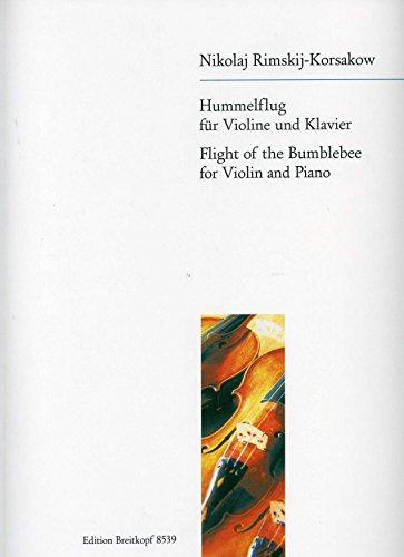 HUMMELFLUG - arrangiert für Violine - Klavier [Noten / Sheetmusic] Komponist: RIMSKY KORSAKOFF NIKOLAI