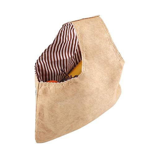 Bolsa de algodón de mano para tejer