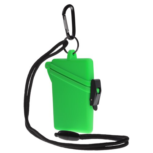 Witz Surf Safe Waterproof Case, Green