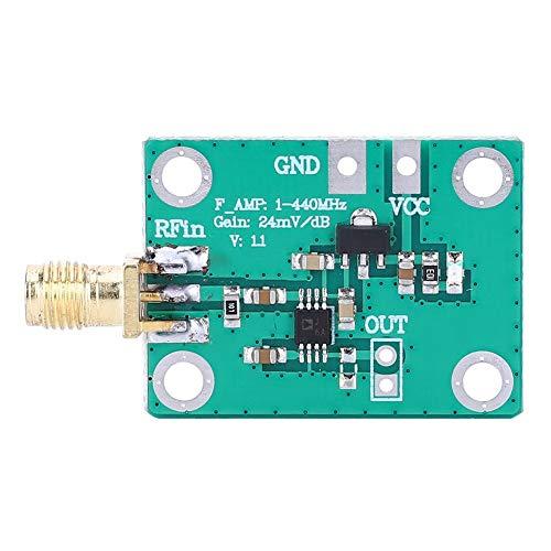 NEUFDAY Logarithmische Verstärker, logarithmische HF-Detektorplatine AD8317 Leistungstester Elektronische Komponente des Messgeräts 1-440 MHz