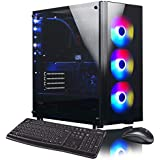 XOTIC V200 (Intel 9th Gen i9-9900K 8-core 5.0GHz Turbo, 32GB DDR4 RAM, 500GB NVMe SSD + 2TB HDD, GTX 1660 6GB, Windows 10) Liquid Cooled Gaming Desktop PC