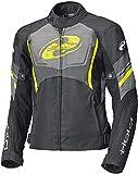 Held Baxley Top - Chaqueta de moto, 62020, Negro amarillo fluorescente, XXXL