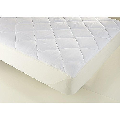 Mattress Topper. Best Comfort Soft Thick Quilted Pad Mat Pillow. Extra Padding Cushion Layer For Deep Healthy Sleep. Firm Protection Cover, Protects Bed From Stains, Dirt, Dust & Wetness (Full)