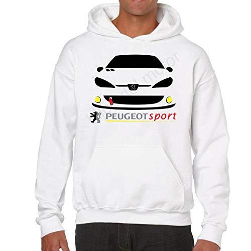 Desconocido Sudadera Peugeot Sport 206 GTI (S)