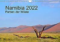Namibia 2022 Farben der Wueste (Wandkalender 2022 DIN A4 quer): Wunderbare Farben und bizarre Formen in Namibia (Monatskalender, 14 Seiten )