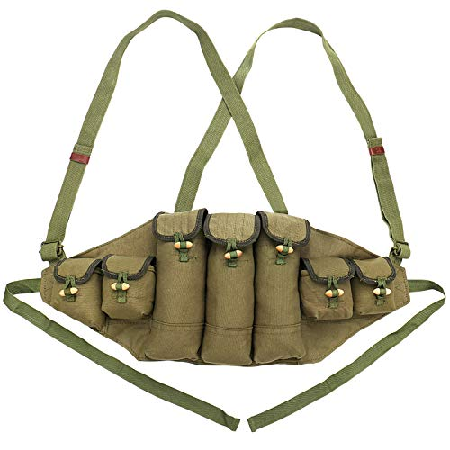 Chinese Military Canvas Type 56 Chest Rig AK 47 Magazine