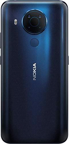 Nokia 5.4 Smartphone mit 6,39-Zoll-HD+-Display, 4 GB RAM, 128 GB Speicher, 48-MP-Vierfach-Kamera, Qualcomm Snapdragon 662, 2 Tagen Akkulaufzeit und Android-Upgrades, Dual-SIM - Polar Night - 4