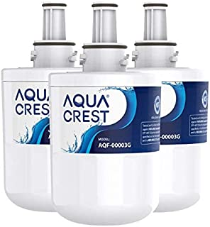 AQUACREST DA29-00003G, Compatible with Samsung DA29-00003G, DA29-00003B, DA29-00003A, Aqua-Pure Plus, HAFCU1 Refrigerator Water Filter (Pack of 3, Package May Vary)