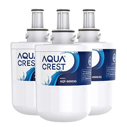 AQUACREST DA29-00003G Kühlschrank Wasserfilter, Kompatibel mit Samsung Aqua Pure Plus DA29-00003G, DA29-00003B, DA29-00003A, DA97-06317A, DA61-00159A, HAFCU1/XAA, HAFIN2/EXP, APP100, WSS-1,WF289 (3)