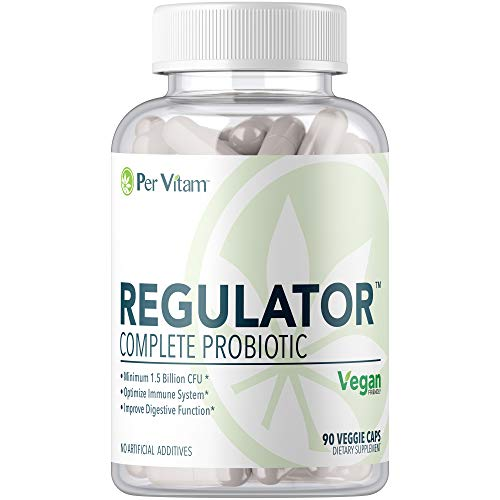 Per Vitam Regulator®Super-Potent Probiotic, Prebiotic, and Digestive Enzymes