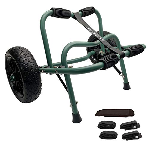 Codinter Kayak Cart, Canoe Dolly Trolley for Carrying Kayaks Boats...