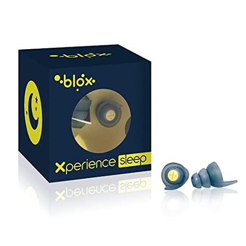 BLOX Xperience Sleep - Bouchons d'oreille réutilisables - La solution pour dormir sans bruit - Capsule Anti-Bruit - Très performant et efficace Sommeil, dormir - 1 paire