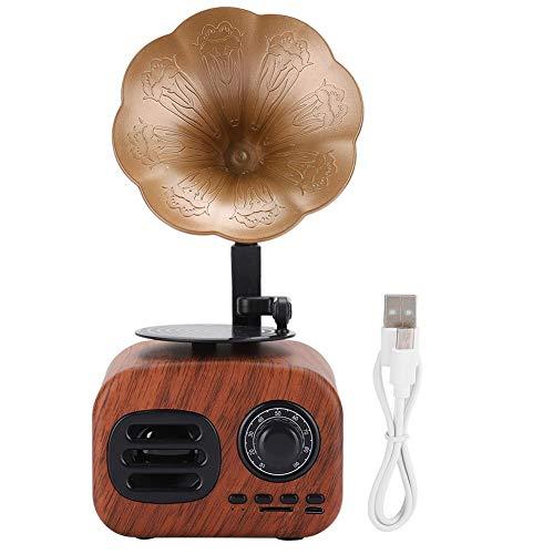 FastUU Mini Altoparlante, Retro Altoparlante Bluetooth Intelligente grammofono di modellazione...