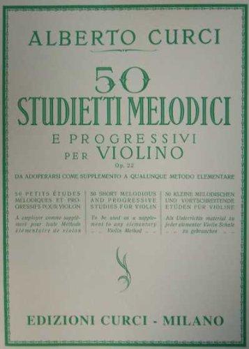 50 STUDIETTI MELODICI E PROGRESSIVI