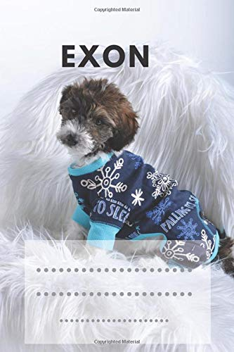 Exon: Dog Breeds Notebook, Journal, Diary, Notebook for Drawing and Writing (Colorfule 110 Pages, Blank, 6 x 9) (Dog Notebook)