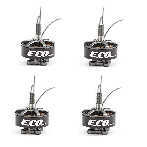 Wpond 4 unids / Lote EMAX Eco 2207 1700KV 1900KV 2400KV Motor para FPV Racer Quadcopter Kvadrokopter RC Drone Aircraft 2400KV