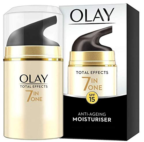 OLAY SPF15 Total Effects 7-in-1 Anti-Ageing Moisturiser, 100 g